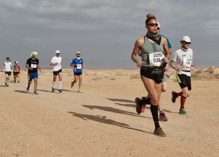 Zanoguera wins Sahara Marathon as she experience firsthand life as a refugee in Algeria