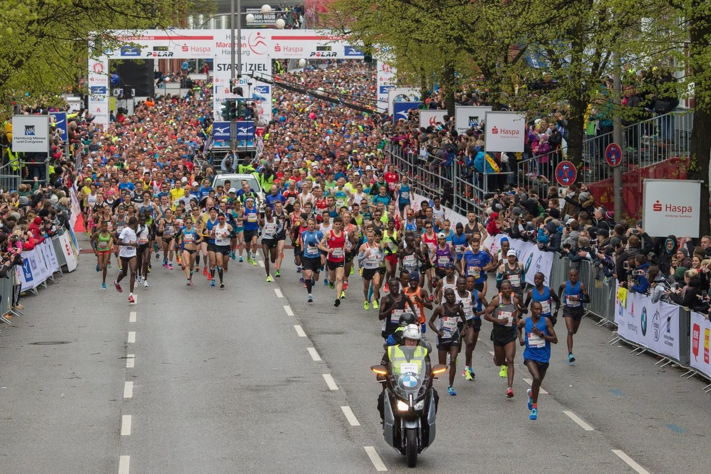 The postponed Haspa Marathon Hamburg will be allowed to take place with 10,000 runners, both elite and mass races