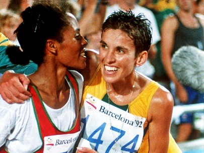 It's a pity the half marathon is not an Olympic Event says four time world record holder Elana Meyer