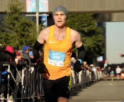Chris Maxwell is hoping to PR at the new Napa Valley Half Marathon as he gets ready to run Boston April 15