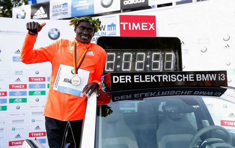 Dennis Kimetto says Kenyan athletes have the strength and skills to run the fast Berlin Marathon course in under 2 hours and 50 seconds