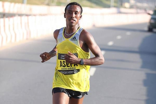 Ethiopian Junior World Record Holder Tsegaye Mekonnen joins the Frankfurt marathon