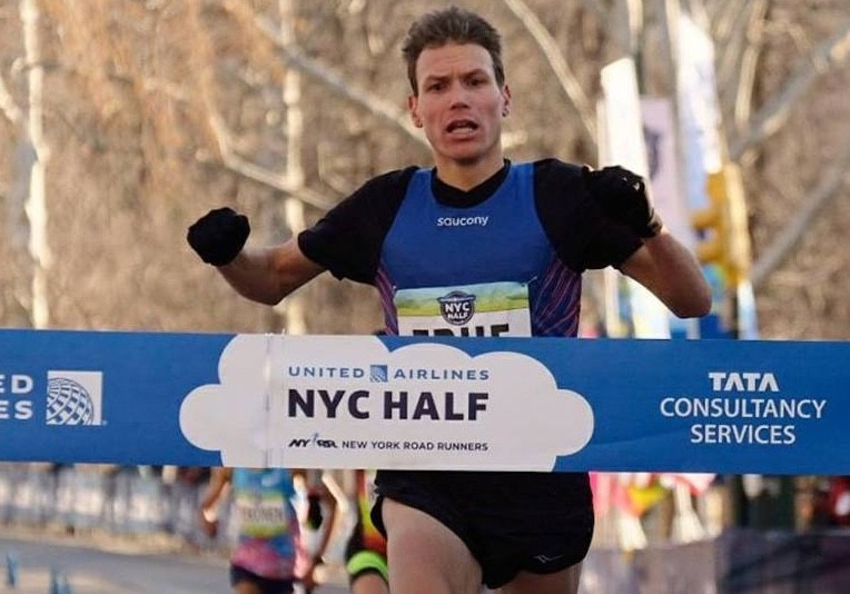 Ben True is the first American to ever win the NY City Half Marathon
