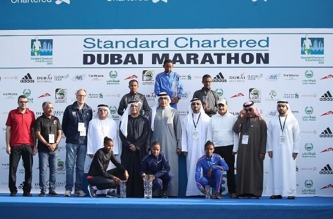 Dubai Marathon winner only entered just Days Before
