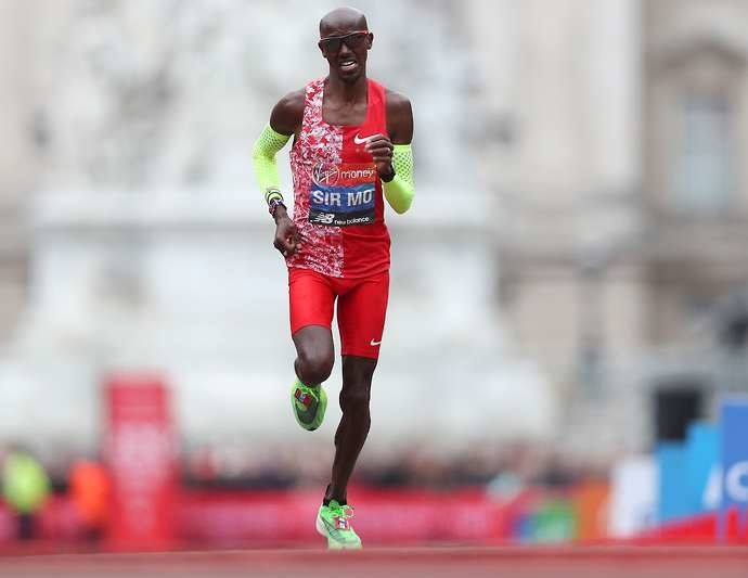 Mo Farah says he will almost certainly not run a track race again and said his sights are now firmly set on running the Olympic marathon in Tokyo 2020