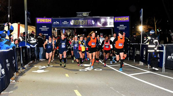 Counting Down to 2018 at the NYRR Midnight Run