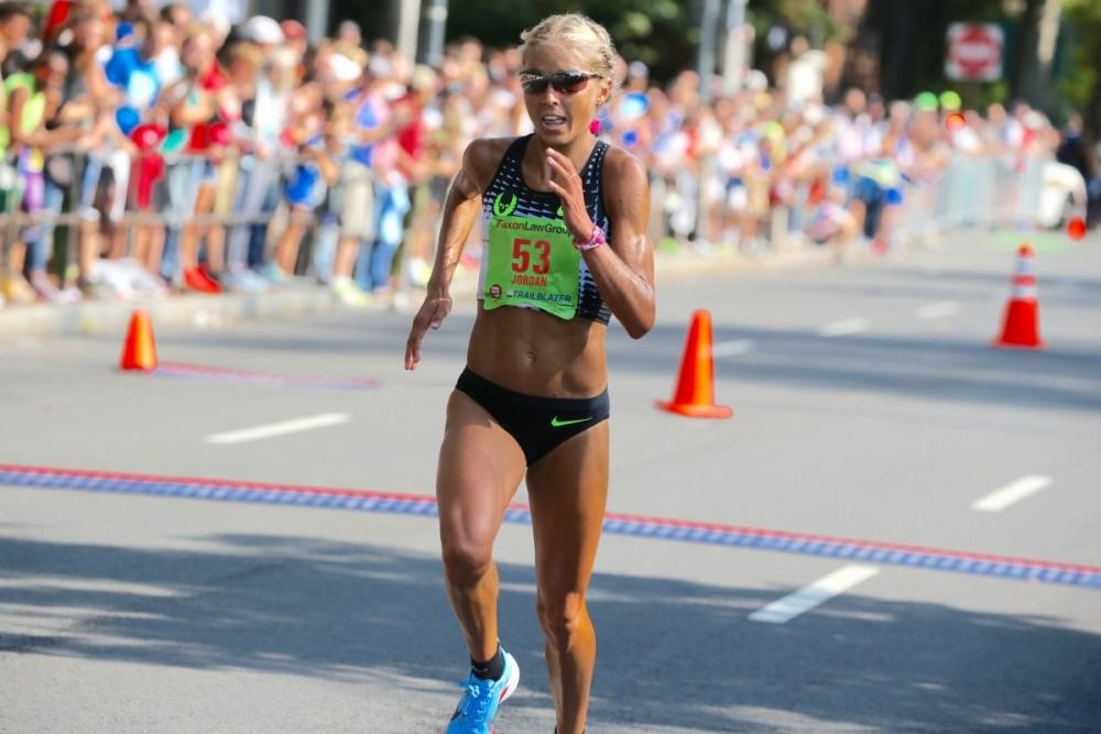 Jordan Hasay is Back and she is Ready to race the Chicago Marathon in October