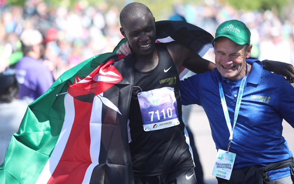 Kenyan Boniface Kongin wins men's Grandma's Marathon clocking 2:11:56