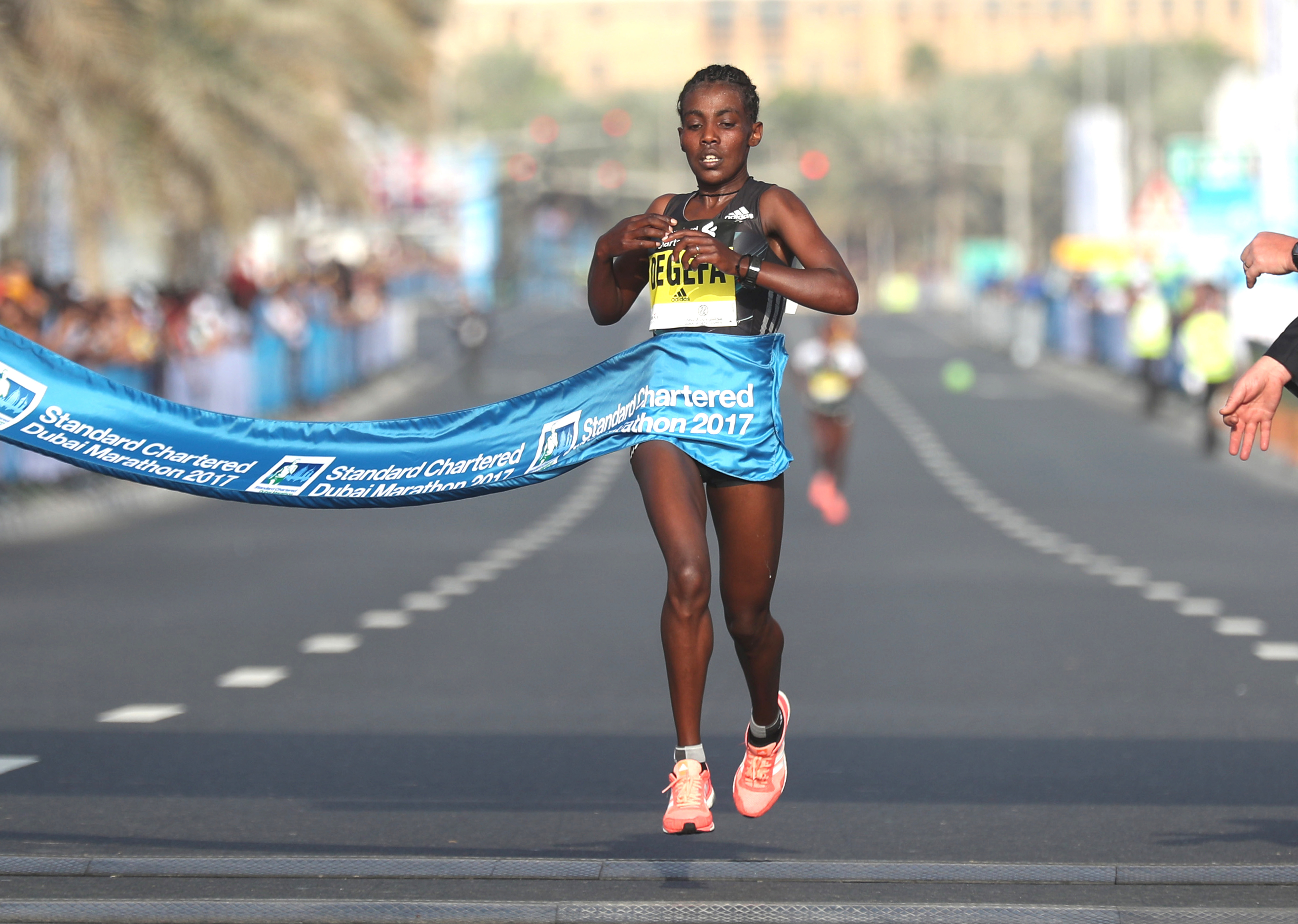 Degafa Confirmed for Standard Chartered Dubai Marathon