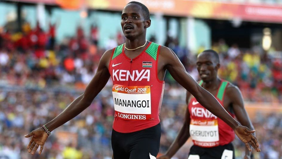 Kenyan middle-distance athlete Elijah Manang'oi, banned for doping offence