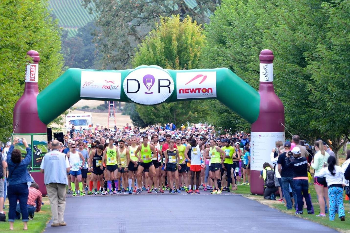 Half Marathon with a small-town charm in Oregon