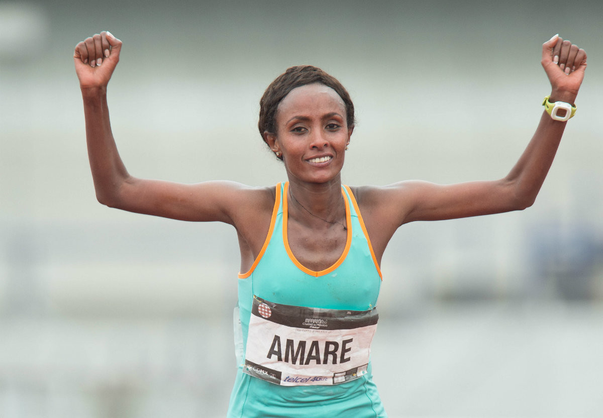 Ethiopian and record holder Shewarge Amare will be running  Mount Washington Road Race after 8 years