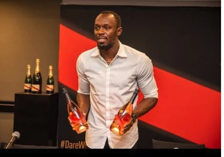 Bolt Champagne - Jamaican Sprint Legend Partners With South Africa's Mumm To Create Own Champagne Brand