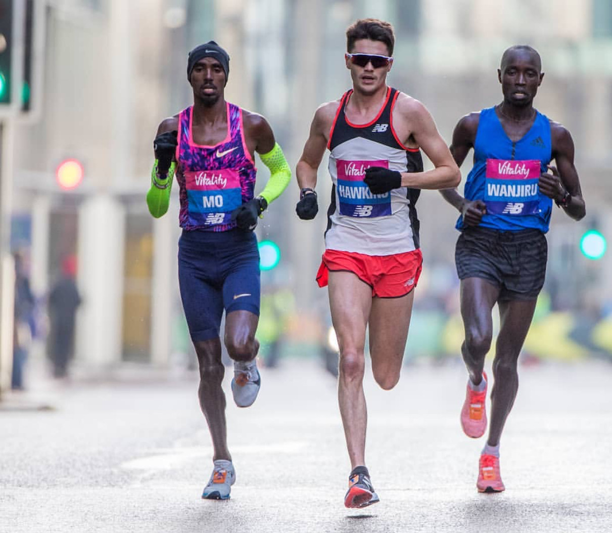 Mo Farah almost did not run the London Big Half on Sunday due to bad weather