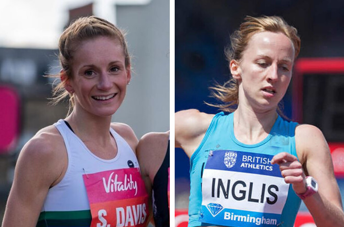 Stephanie Davis and Sarah Inglis are part of a ten-strong Great Britain and Northern Ireland team that will travel to Poland for the World Athletics Half Marathon Championships