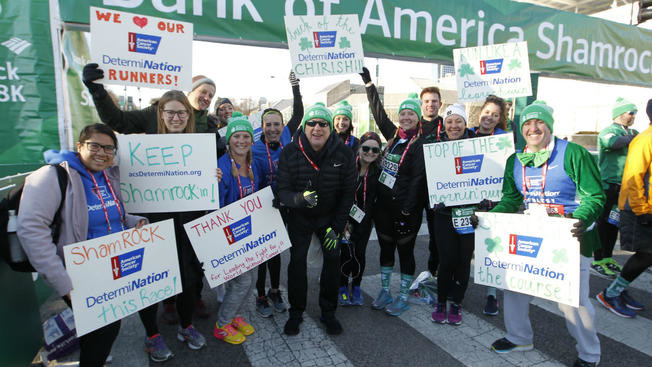 Executive race director for the Bank of America Shamrock Shuffle will run the 40th annual 8K Chicago race for Charity