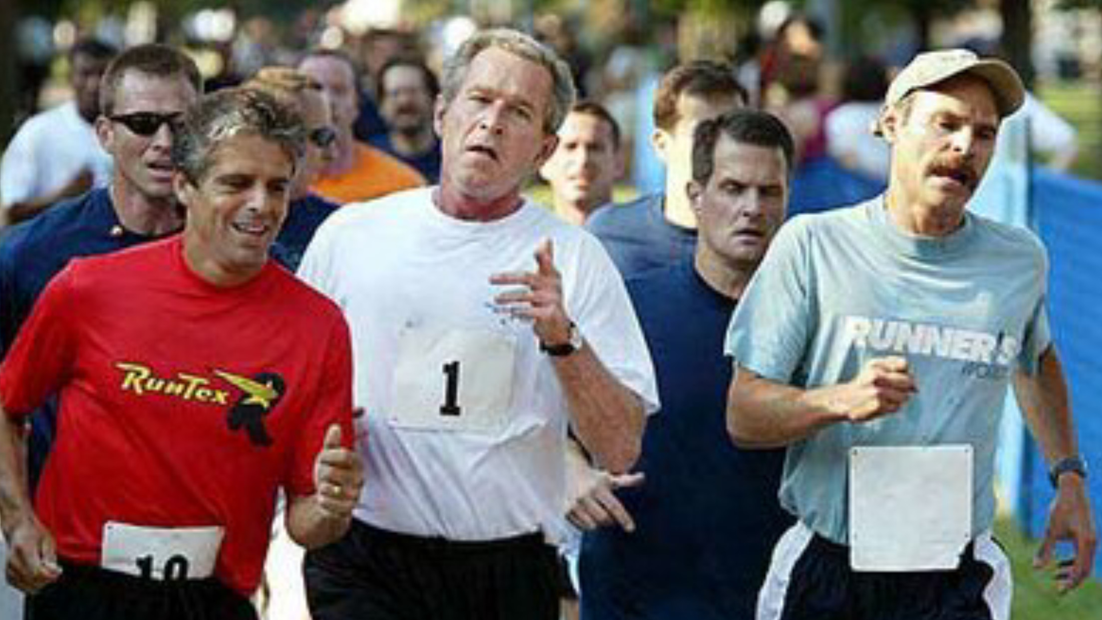 What is the fastest Marathon time run by a US President?