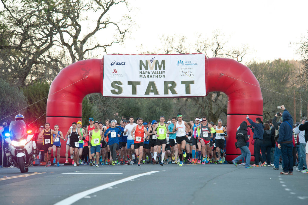 Napa Valley Marathon has added a New Half Marathon Distance event