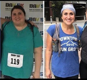 Paige Marg will run her first marathon after losing 150 pounds