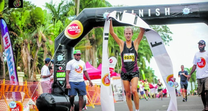 Island Chill Marathon Defending Champion, Ben Ashkettle Hopes To Represent Fiji