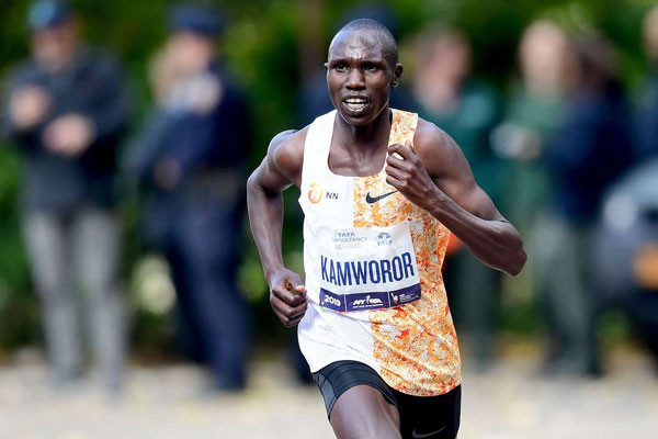Three-time World Half Marathon Championships title holder Geoffrey Kamworor vows to come back stronger