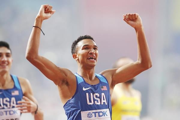 Donavan Brazier believes he has a chance at legendary record