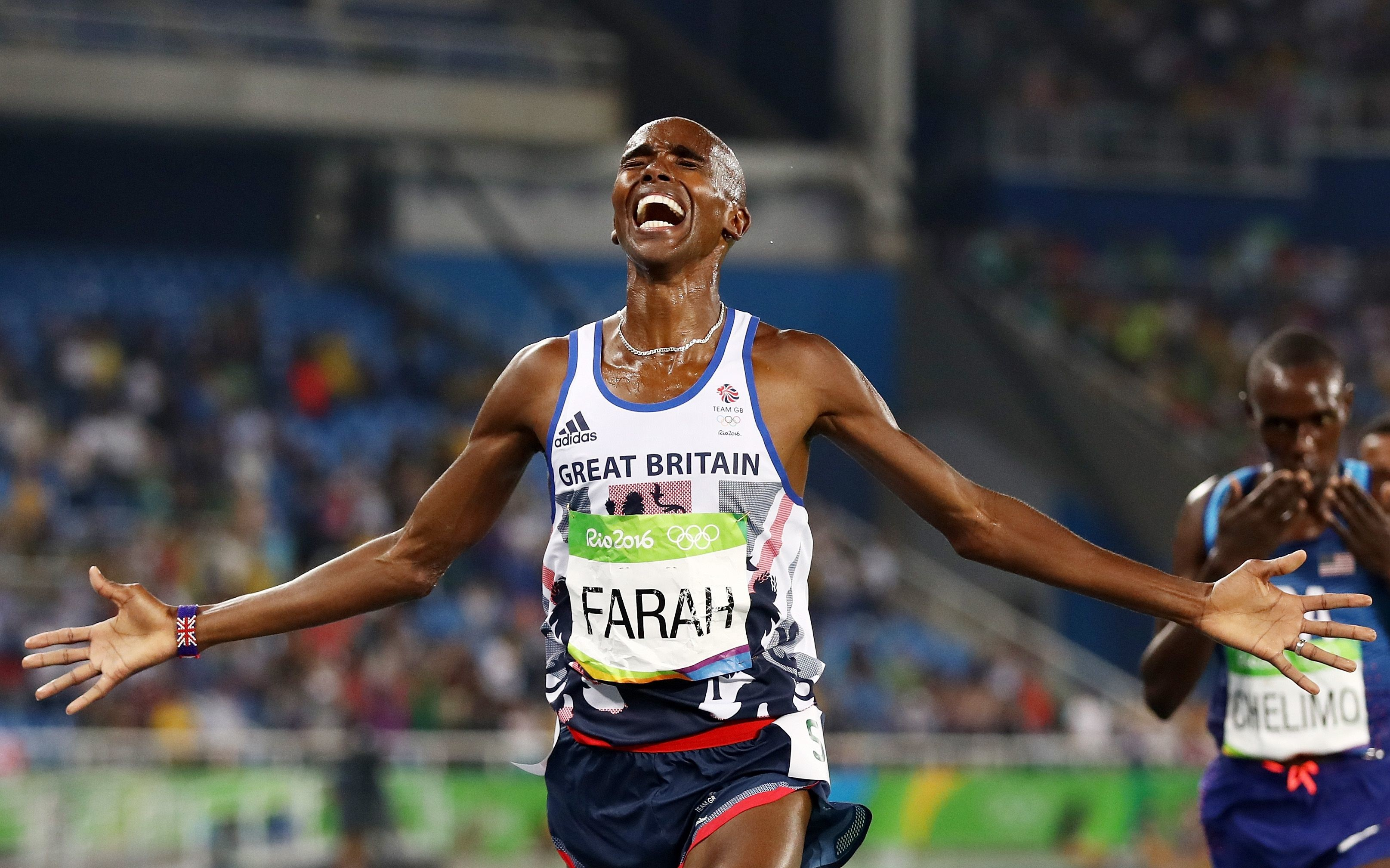 Mo Farah is returning to the track