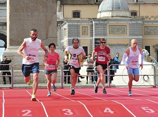 Global Run Challenge Profile: Carla moved to Rome in 1992 after seeing the movie Roman Holiday