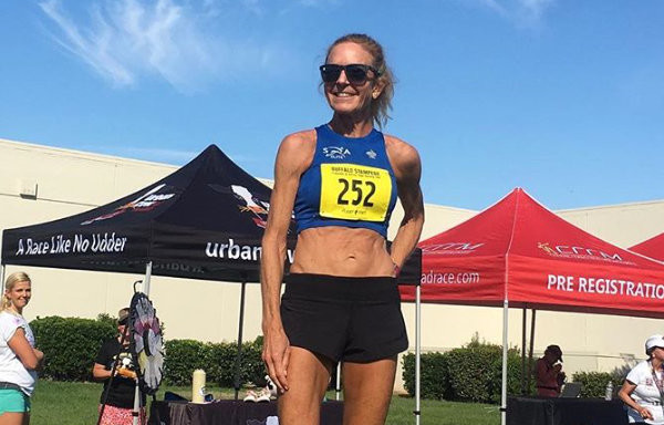 Jenny Hitchings is on a roll breaking four national age-group records in four months