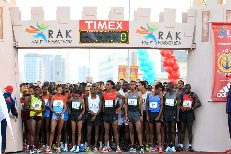 The 13th edition of the Ras Al Khaimah Half Marathon once again promises fierce racing and quick times
