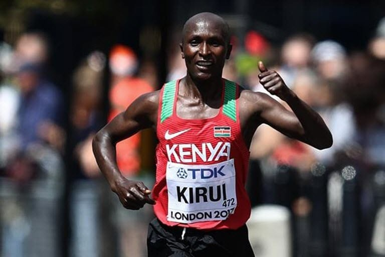 Kenya´s Geoffrey Kirui recovers from tendon injury ahead of 2020 marathon
