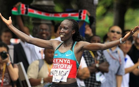 Two-time world champion Edna Kiplagat will lead Kenya's women team in the Doha world championship