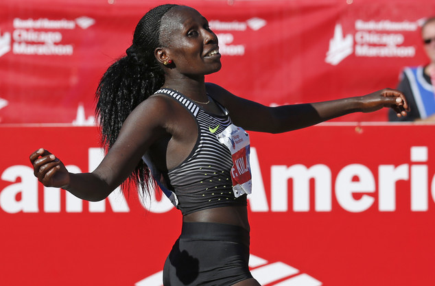 Former Chicago marathon champion Florence Kiplagat is ready for Tokyo marathon challenge
