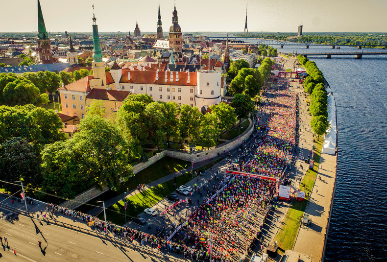 2021 Rīga marathon Rescheduled to take place in August