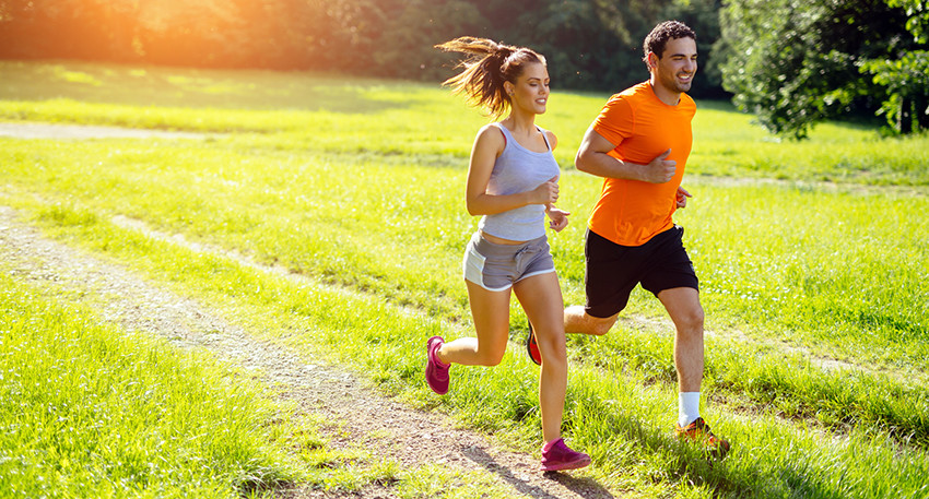 Regular running makes people happier and more confident but we know this