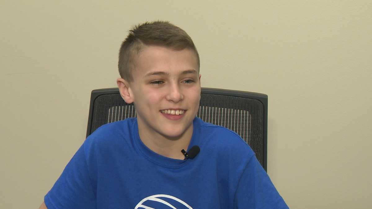 13-year-old Eli Carr is going to be running Pittsburgh Half-Marathon in Honor of Mother