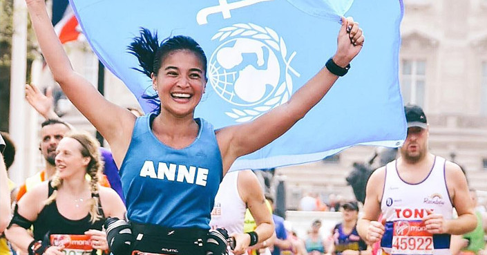 Host and film superstar Anne Curtis is looking to add another feather to her cap with her official participation in the 2020 Tokyo Marathon