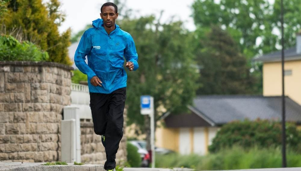A refugee athlete has been selected as an elite runner for the Tokyo Marathon for the first time in the event's history