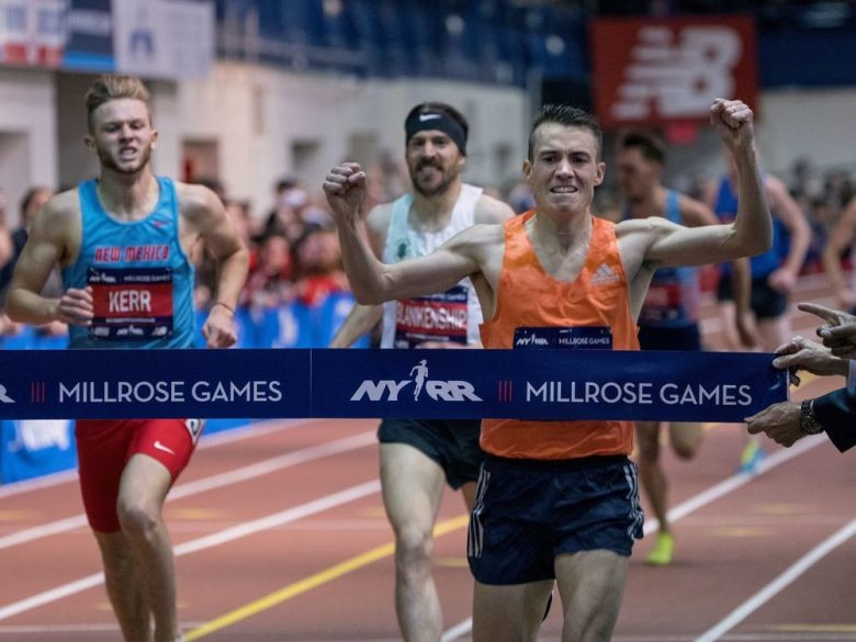 Past Champions and Olympians will Headline NYRR Wanamaker Mile Men's Field at 113th NYRR Millrose Games