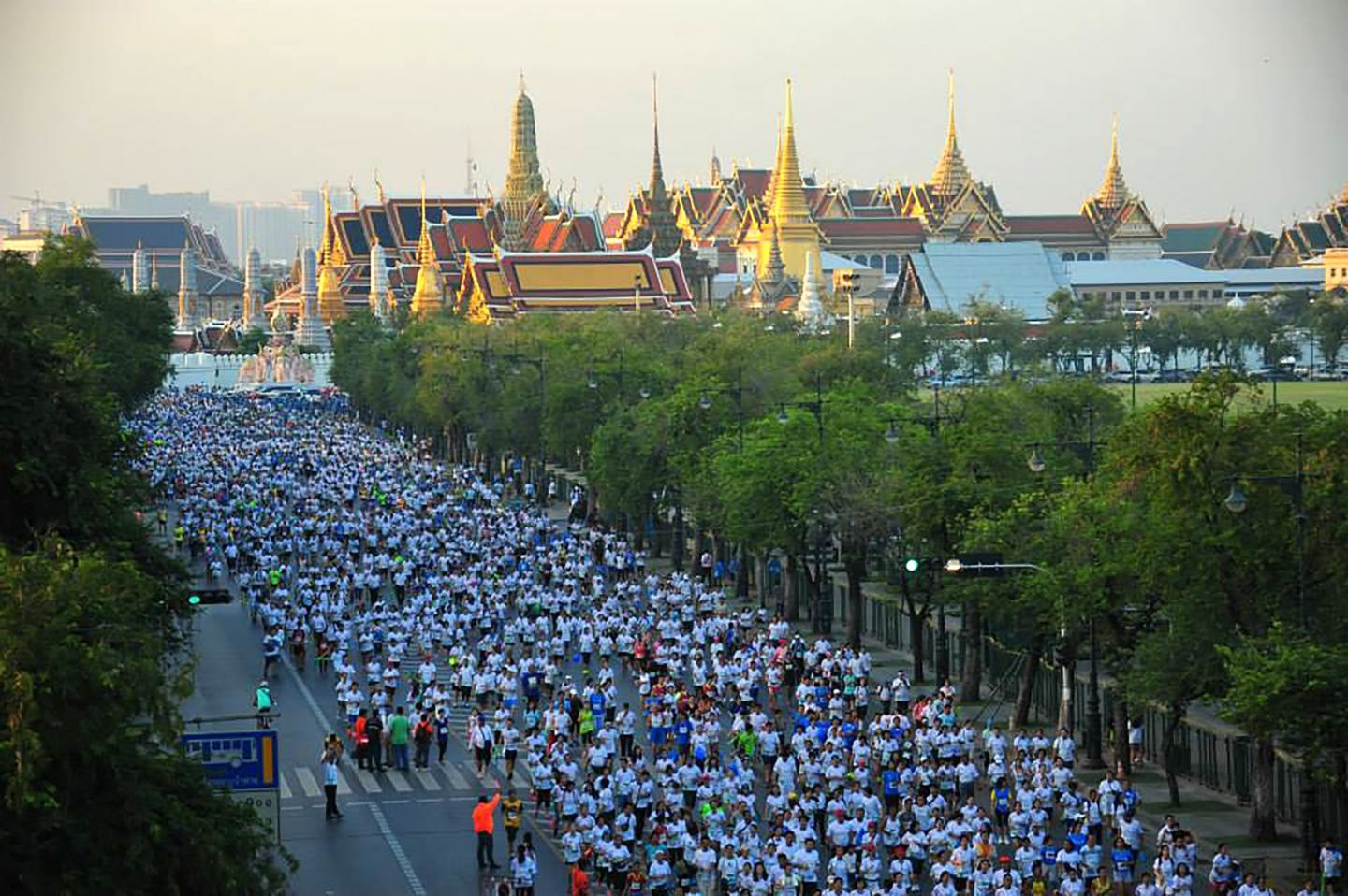 30,000 runners are expected to enter the  Bangkok Marathon