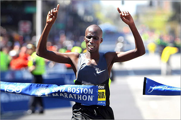 Wesley Korir won the 2012 Boston Marathon and wants to win this year's BLOM Bank Beirut Marathon