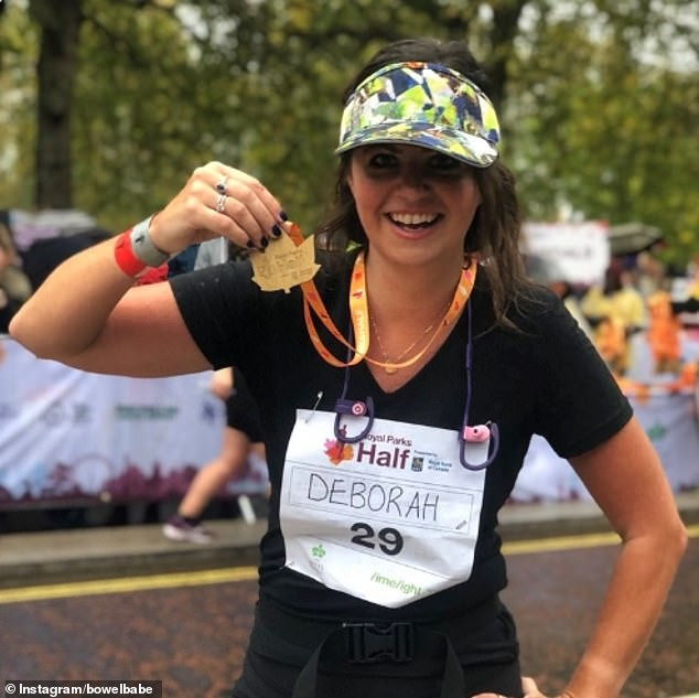 Deborah James is running the Vitality London 10k to prove she is not dead yet