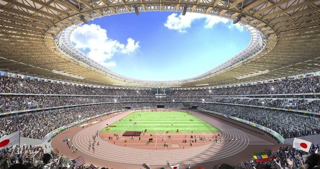 Tokyo 2020 National Stadium is nearing completion with the opening set for December 21