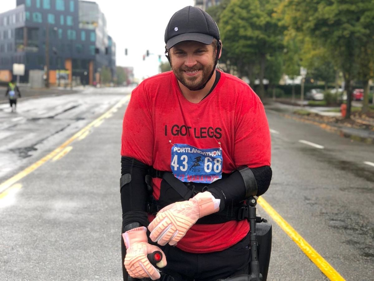 Adam Gorlitsky wants to be the first paralyzed man to complete the Los Angeles Marathon
