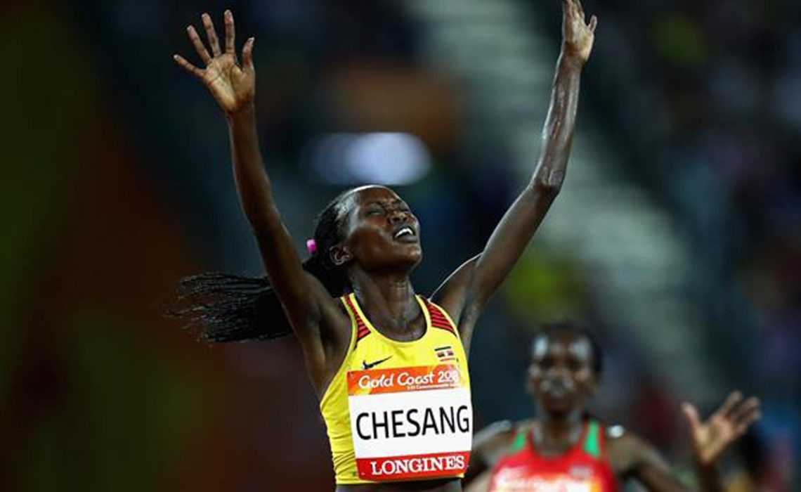 Uganda's Chesang a Gold Medalist will travel to South Africa to take part in the FNB Cape Town 12 Onerun