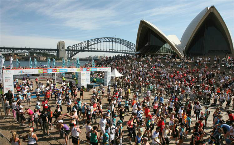 Sydney marathon organizers are determined to see the course records go when this year's race is run on Sunday