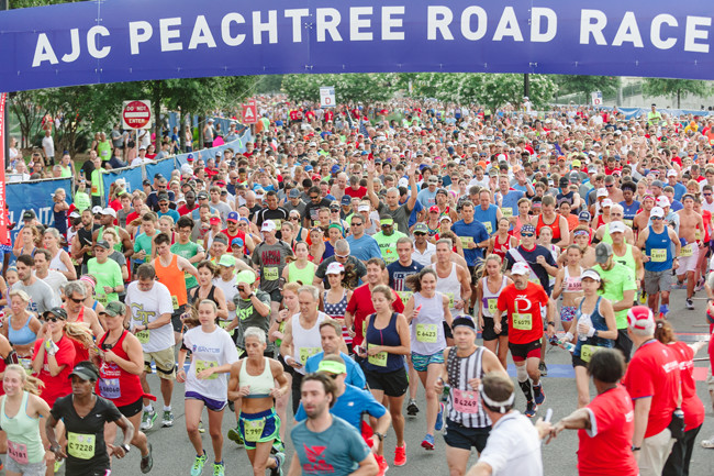 The 2020 Peachtree Road Race to happen as scheduled on July 4