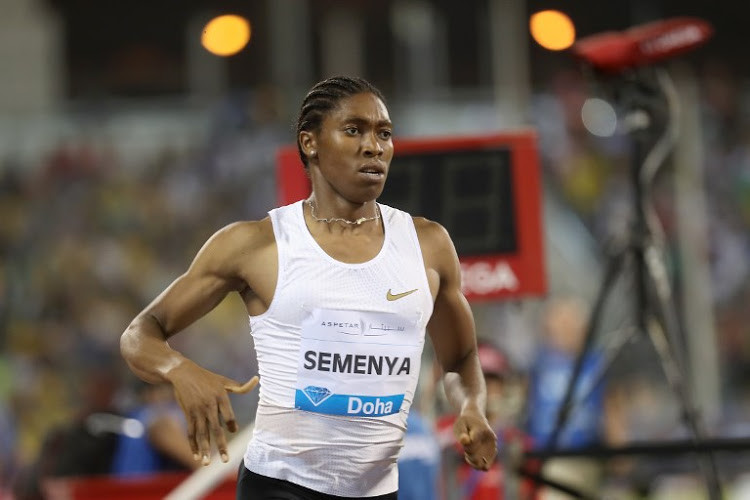 South Africa's Caster Semenya has switched from the 3000m to 800m event at the Prefontaine Classic