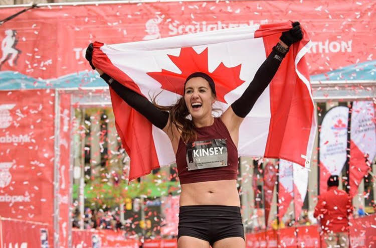 Kinsey Middleton and Malindi Elmore are both seeking a spot on Canada's Olympic marathon team going to Tokyo