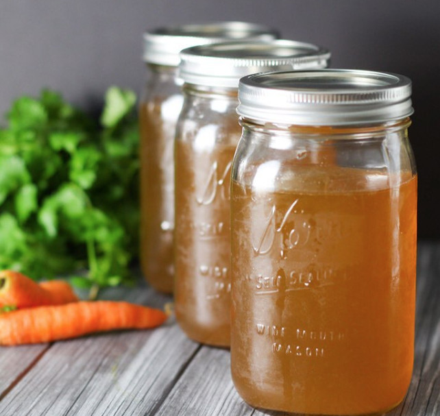Bone broth has anti-inflammatory properties that are great for runners